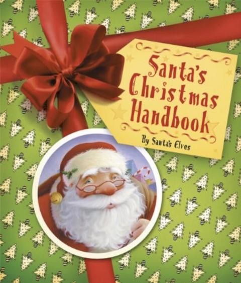 Book cover for Santa's Christmas Handbook